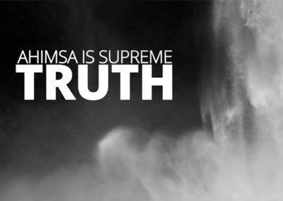 Ahimsa is Truth