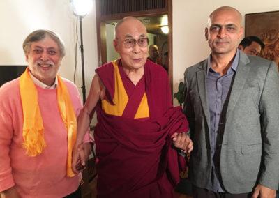 Dalai Lama and Ramesh Sharma